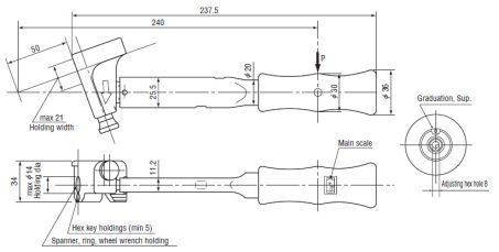 Click Type Torque Wrench (MT70N) 3