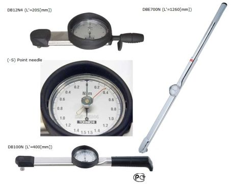 Dial Indicating Torque Wrench (DB/DBE/DBR-S) 1
