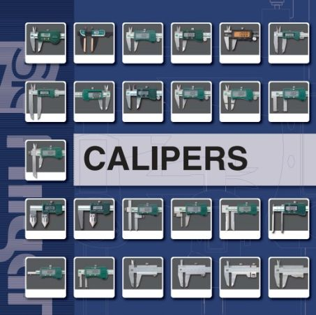 Digital Outside Calipers Point Jaw (D-NP Series) 3