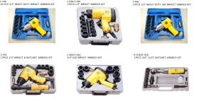 AIR IMPACT  RATCHET WRENCH KIT